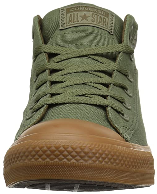 1282f4d97f2a11 Converse Women s Chuck Taylor All Star Street Mid Sneaker Field Surplus Surplus  Olive 7 M US  Buy Online at Low Prices in India - Amazon.in