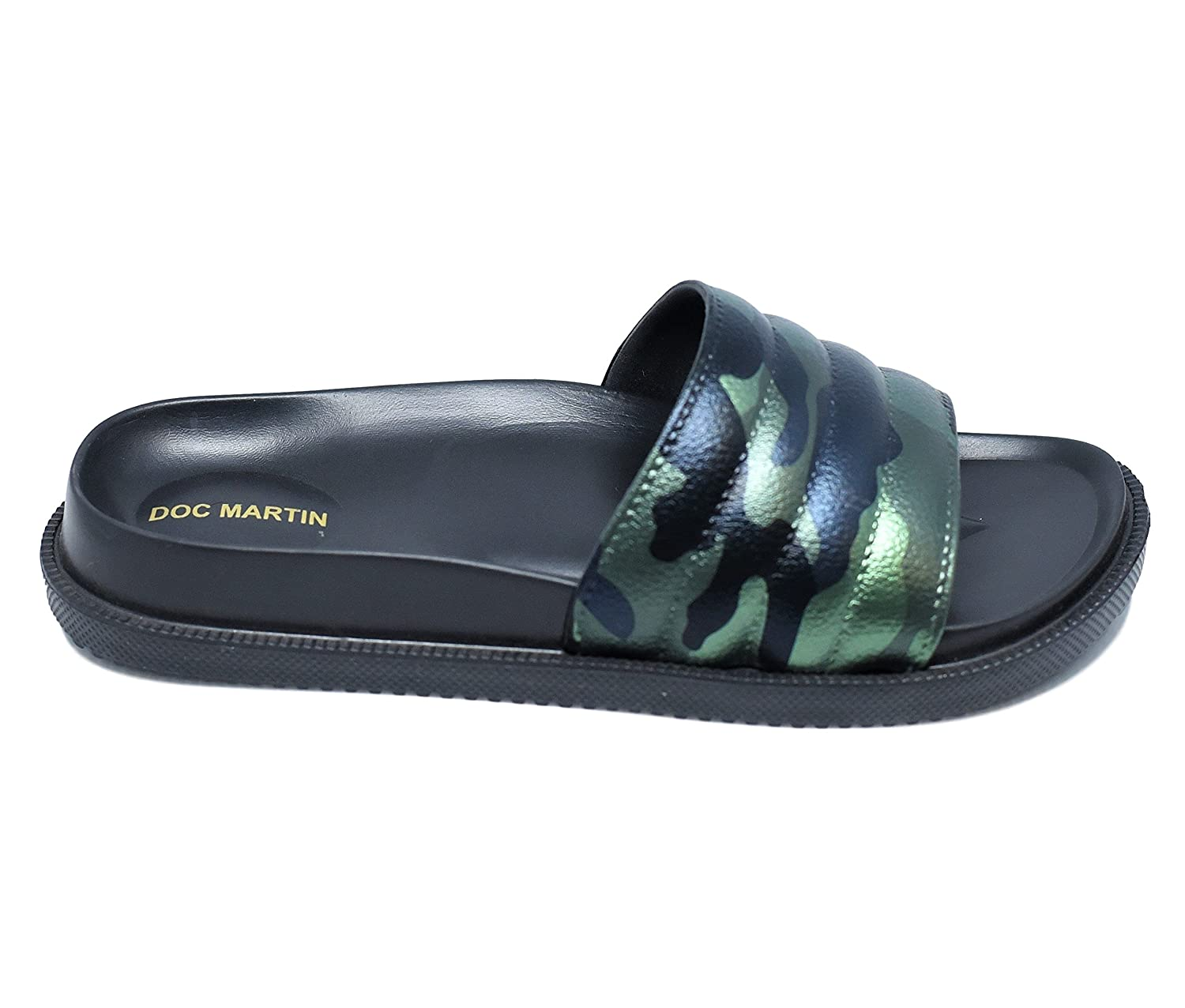 319f2409c6d DOC Martin Camouflage Black Amalphi Flip Flops  Buy Online at Low Prices in  India - Amazon.in