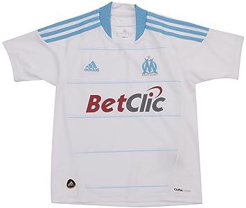 adidas Om H Jsy Y OM - Camiseta de fútbol para niño, diseño de Olympique
