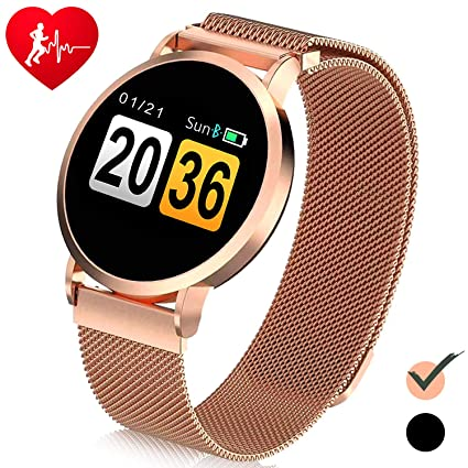 6af1ef648e6 1.4'' IPS Smart Watch for Women, Fitness Activity Tracker Waterproof with  Heart Rate Blood Pressure Monitor - Color Touchscreen Sports Watch Calories  ...