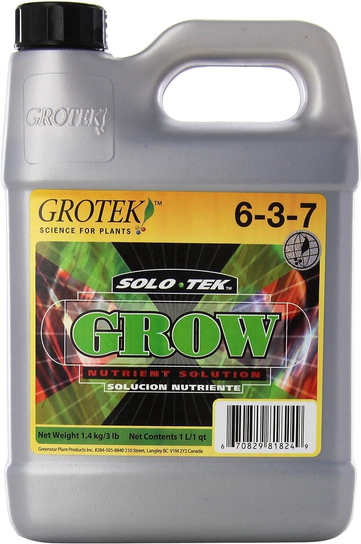Fertilizante / Estimulador de Crecimiento Grotek Solo Tek Grow (1L)