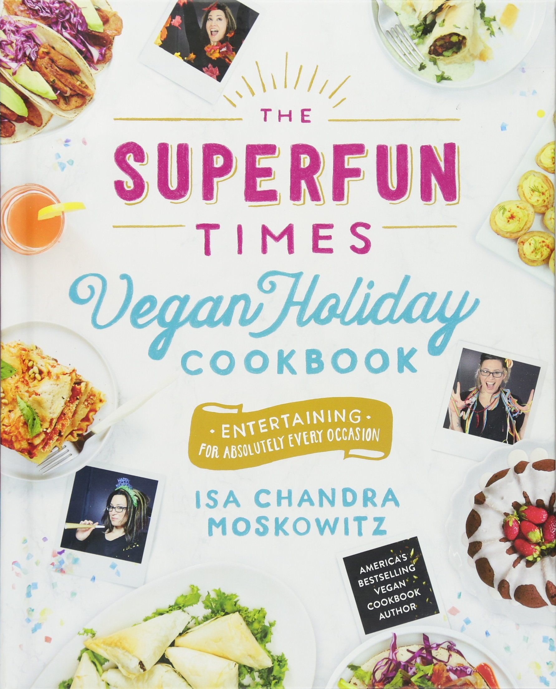 Superfun Times Vegan Holiday Cookbook product image