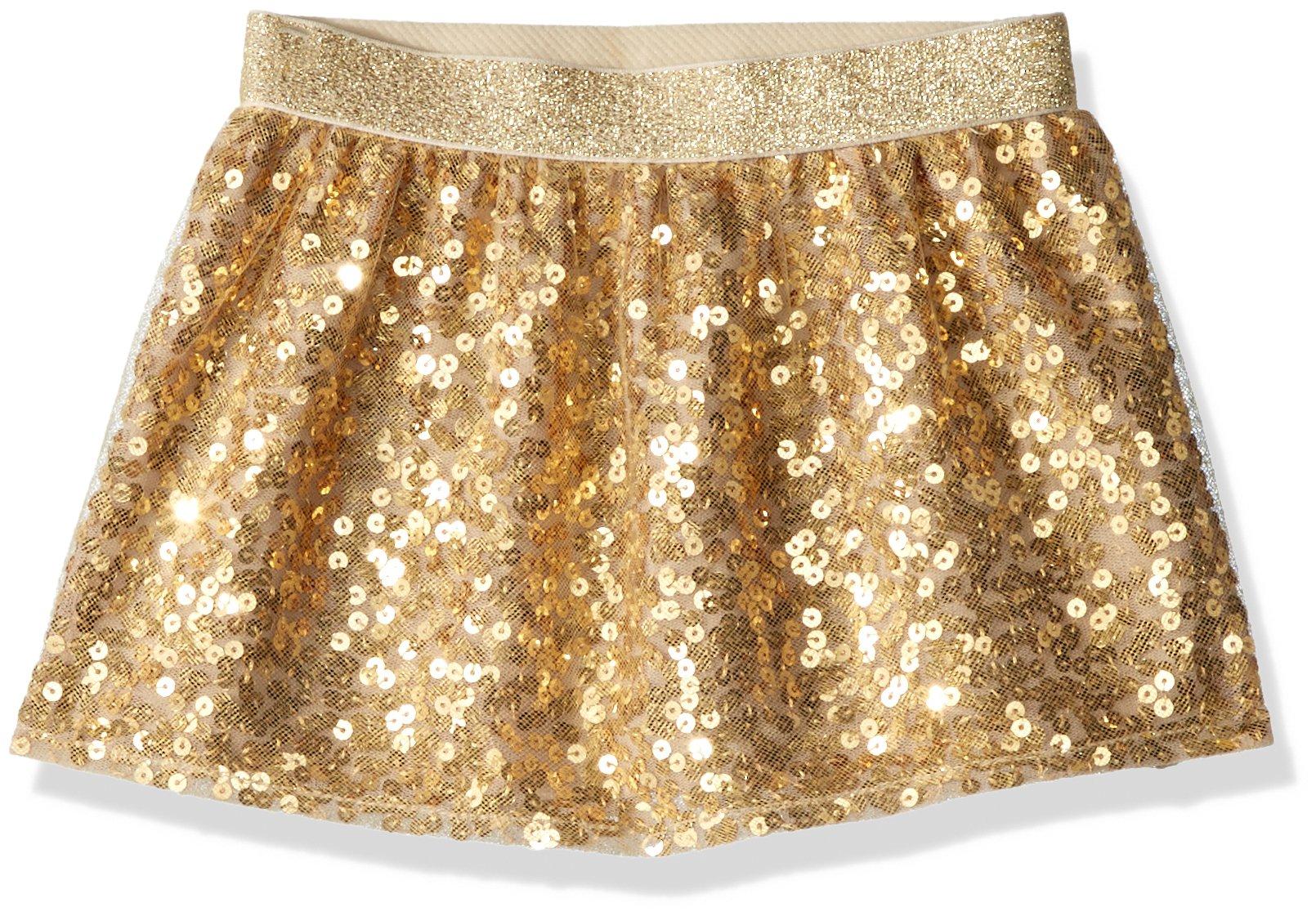 Crazy 8 Toddler Girls' Sequin Skirt, Gold, 18-24 Mo
