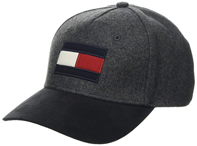 Tommy Hilfiger TJM Trucker Flag Cap Gorra de b/éisbol, Talla del Fabricante: OS Black Bds /única para Hombre