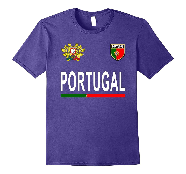 f26a4508eda Portugal Soccer T-Shirt - Portuguese Football Jersey 2017-TH - TEEHELEN
