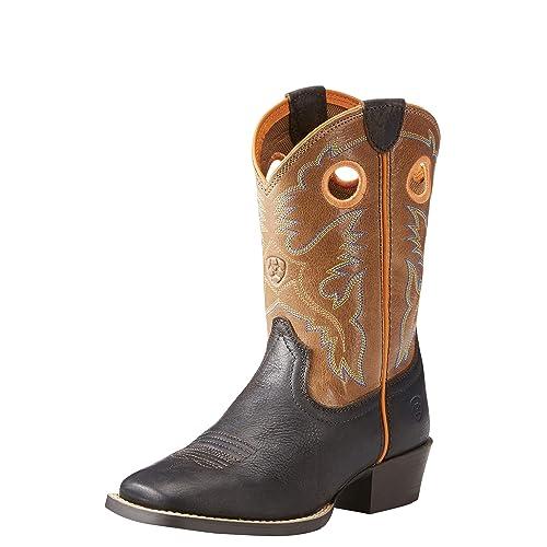 7d8ee0c5a41 ARIAT Kids' Heritage Roughstock Western Boot