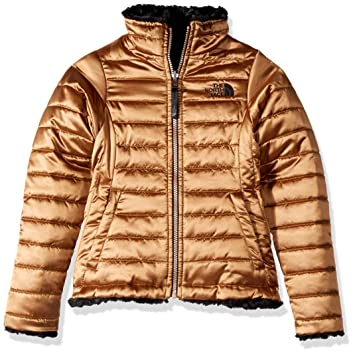 d18cf5dd09 The North Face Toddler Girl s Reversible Mossbud Swirl Jacket - Metallic  Copper - 2T