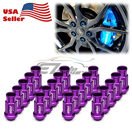 20 Pcs Alloy Wheel Bolts Neo Chrome Finish M12 x 1.5 For Mercedes Benz