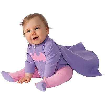 Rubie's Costume Baby Girl's DC Comics Superhero Style Baby Batgirl Costume: Clothing