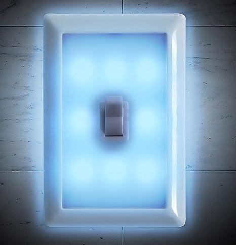 Night light wall switch battery operated set of 2 by techtools night light wall switch battery operated set of 2 by techtools aloadofball Image collections