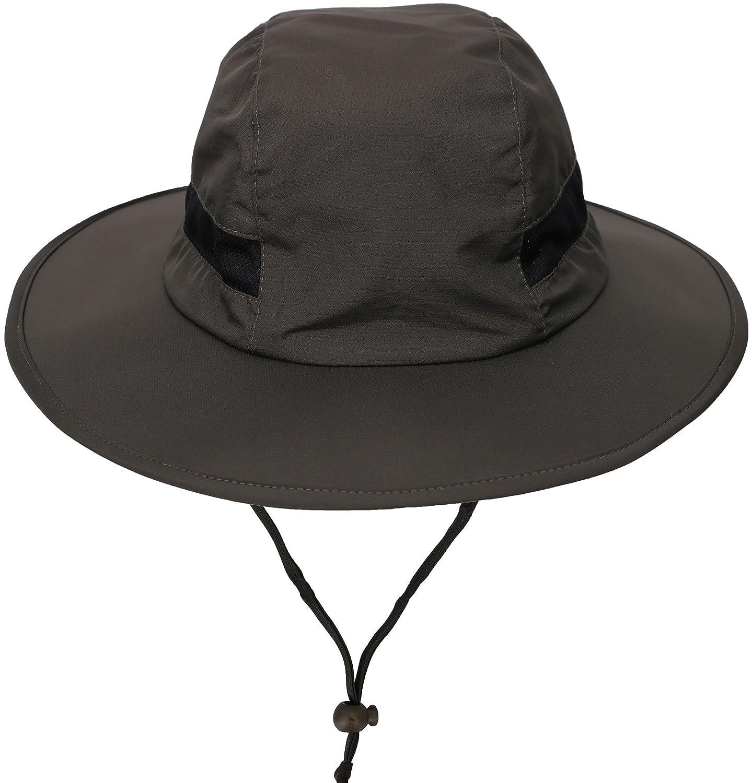 防水アウトドアバケットハットSPF 50 + UV保護Safari SunキャップBoonie釣りハイキング帽子 B01J51GWJC オリーブ オリーブ