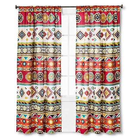 Mudhut Shower Curtain Multi Color 72quot