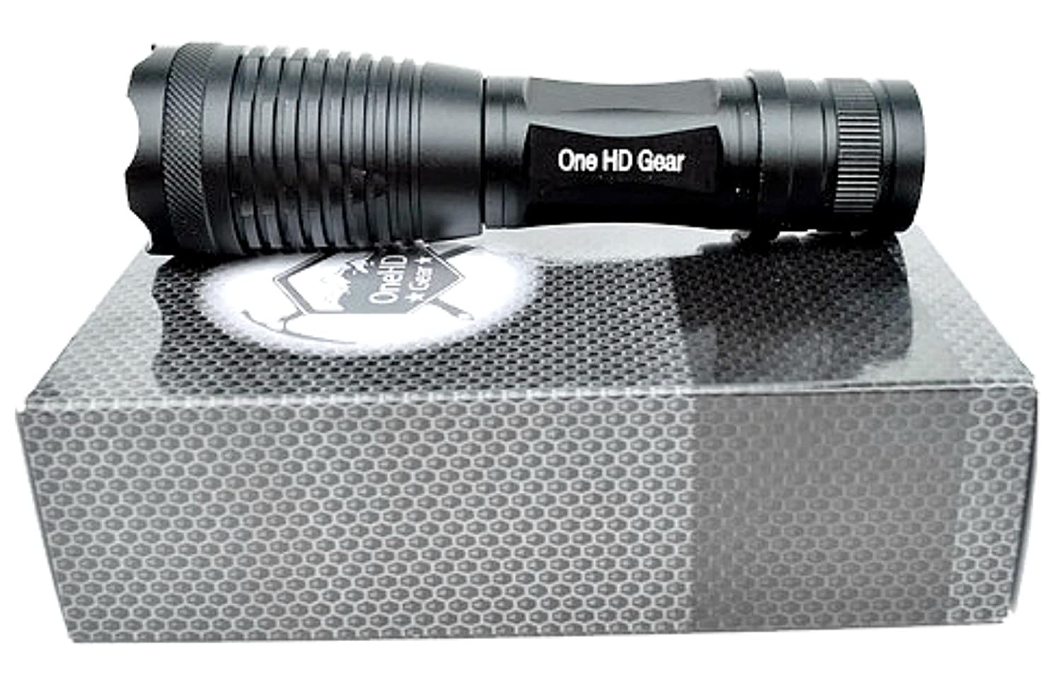 Amazon.com: LED Tactical Flashlight [Charger \u0026 Battery included ...
