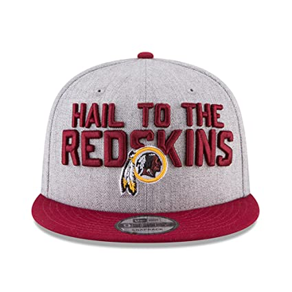 5f8f6328c07 New Era Washington Redskins 2018 NFL Draft Official On-Stage 59FIFTY Fitted  Hat - Heather