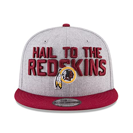 11d2eec5037ff New Era Washington Redskins 2018 NFL Draft Official On-Stage 59FIFTY Fitted  Hat - Heather