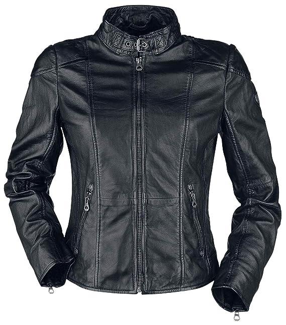 Gipsy Kina S18 LEGV Lederjacke schwarz: : Bekleidung