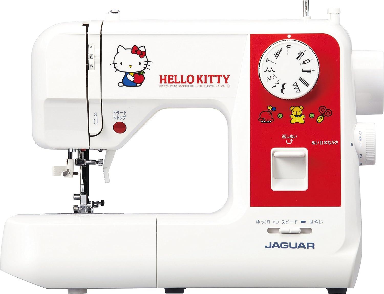 Jaguar (Jaguar) electrónico máquina de coser [Cute Hello Kitty ...