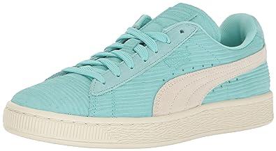 PUMA Women s Suede Classic Emboss Bamboo WN s Fashion Sneaker e869b853a4