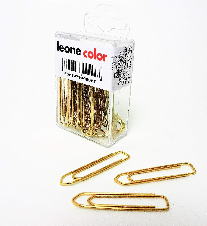 20 - Made in Italy Stecca da 10 scatole da 100 pz mm 1 1.000 Fermagli Zincati Leone DellEra N