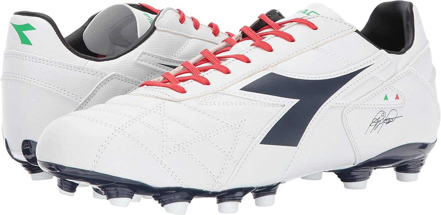 Diadora ユニセックスアダルト B01NCOQCEX 10.5 Women / 9 Men M US|White/Corsair White/Corsair 10.5 Women / 9 Men M US