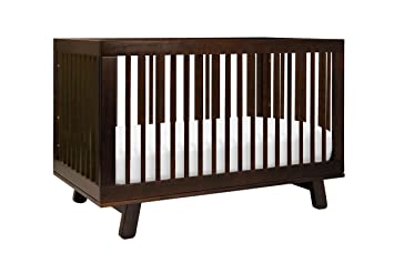 Babyletto Hudson 3 In 1 Convertible Crib With Toddler Bed Conversion Kit Espresso