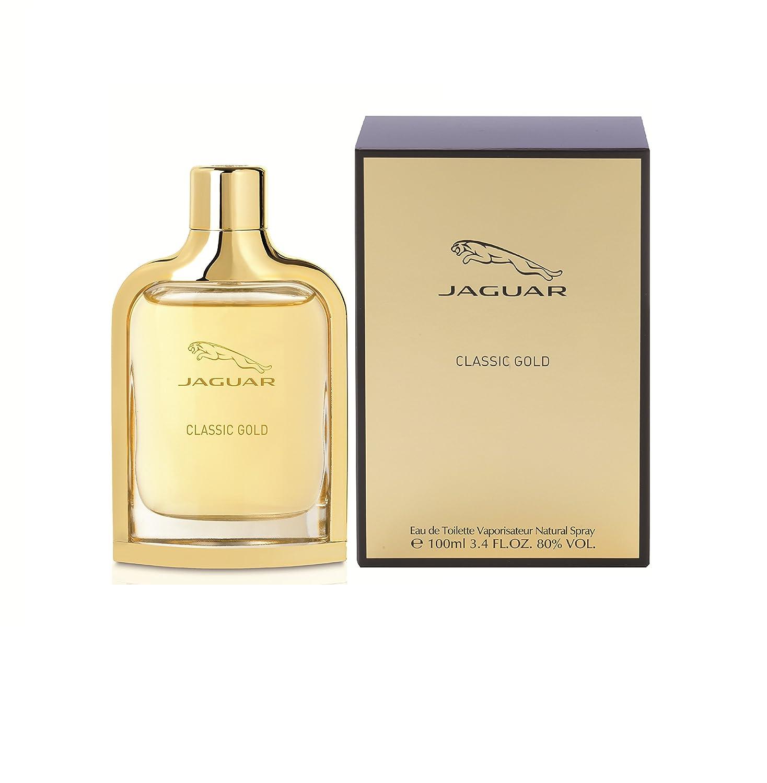 Jaguar Classic Gold for Men-3.4-Ounce EDT Spray AEP01042