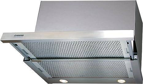 Nodor 1716 - Campana extractora (60 cm, iluminación LED ecológica): 137.87: Amazon.es: Grandes electrodomésticos