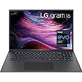 """LG LCD Laptop 16"""" WGXGA (2560x1600) Ultra-Lightweight (2.6 lbs), 11th gen CORE i7, 16GB RAM, 256GB SSD, C Port, USB-A, HDMI,"""