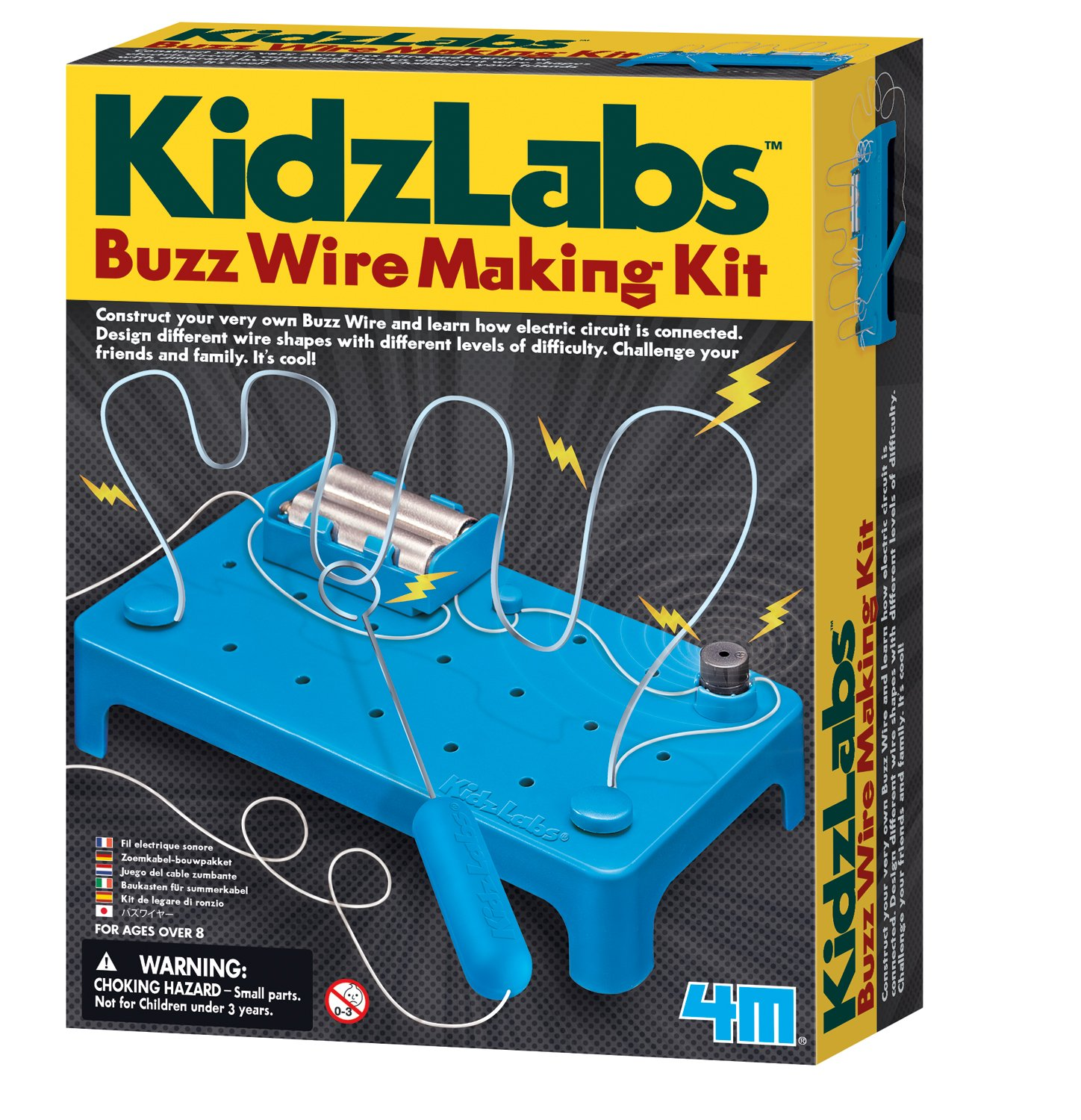 Amazon.com: 4M Kidz Labs Buzz Wire Kit: Toys & Games