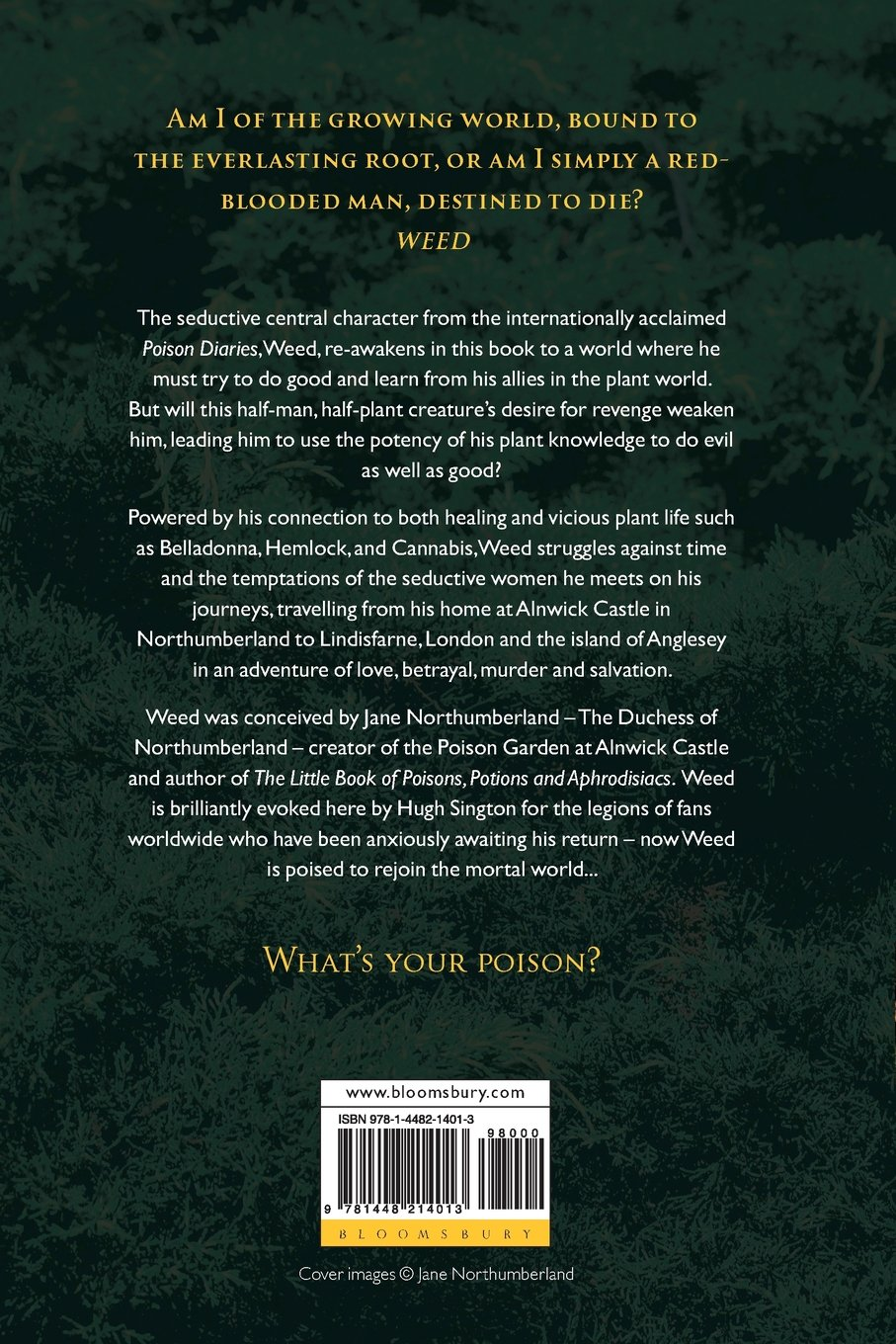 Weed the poison diaries jane northumberland 9781448214013 weed the poison diaries jane northumberland 9781448214013 amazon books fandeluxe Epub