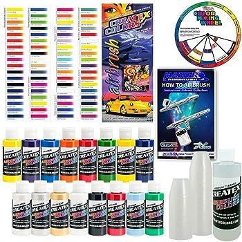 Createx-KI-SUPER16-Airbrush-Super-Starter-Kit