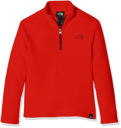 The North Face Kinder (Junior) Y Glacier 14 Zip (Recycled) Fleece Pullover