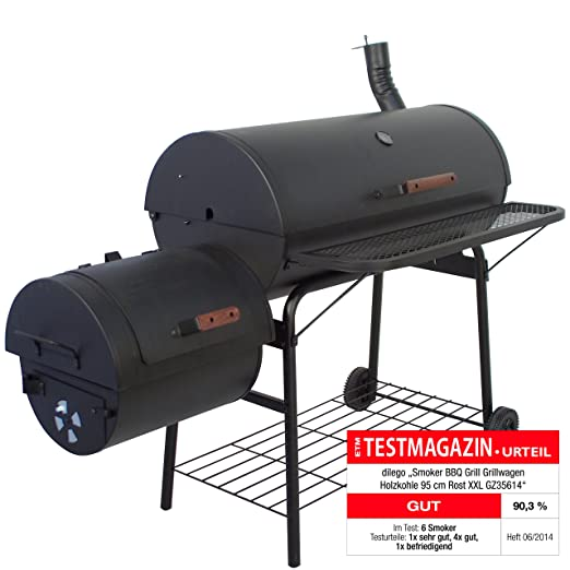 Smoker BBQ Grill XXL Grillwagen Holzkohlegrill*