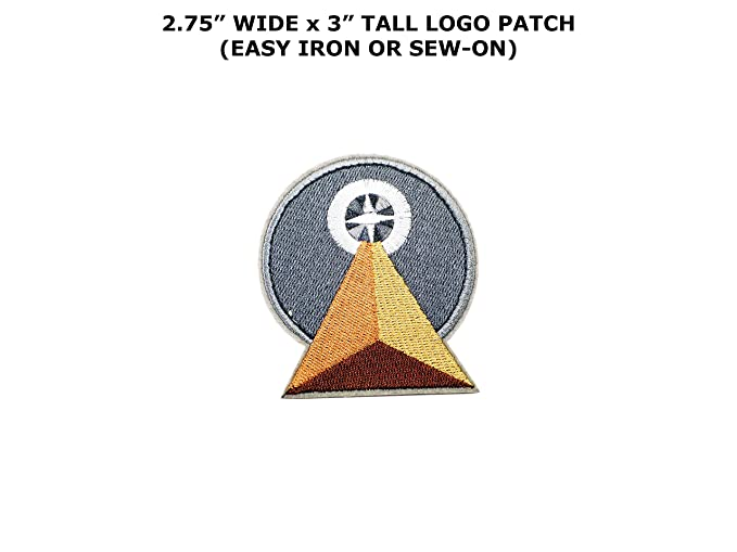Amazon Star Trek Vulcan Idic Symbol Embroidered Iron On