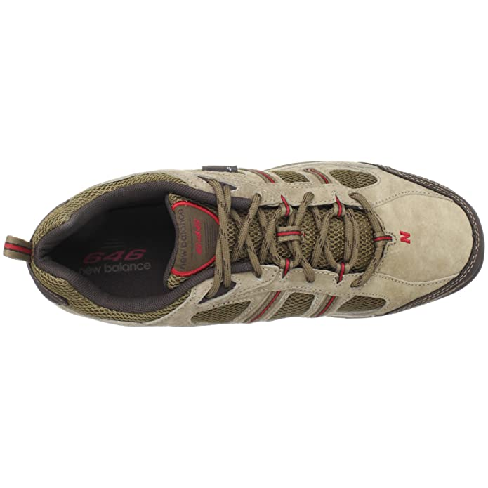fc42c5b4bf926 New Balance Men's MW646BR Brown/Red Hiking Shoe MW646BR 13.5 UK D:  Amazon.co.uk: Shoes & Bags
