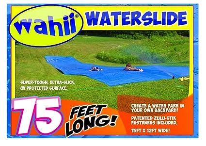 Amazoncom Wahii Waterslide 75 Worlds Biggest Backyard Lawn
