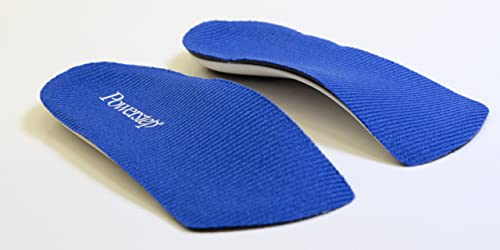 Powerstep SlimTech 3/4 Length Orthopedic Foot Insoles Support All Sizes