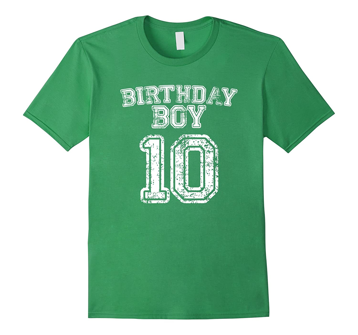10th Birthday Sports Jersey T Shirt