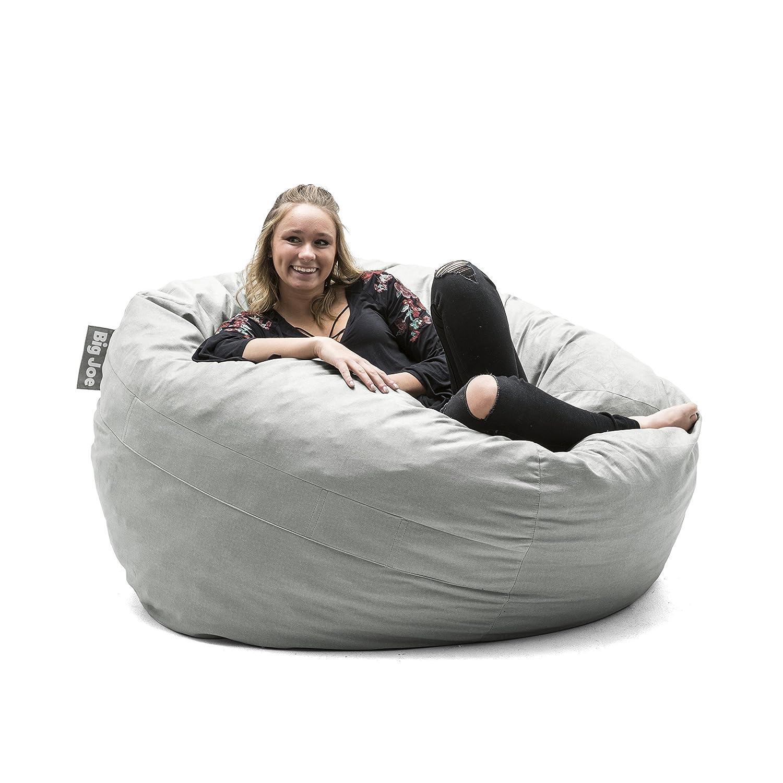 Big Joe 0020655 Fuf Foam Filled Bean Bag Chair, Medium, Black Lenox Comfort Research