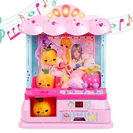 Gili Electronic Claw Toy for Girls Age 6, 7, 8, 9  Grabber Machine ...