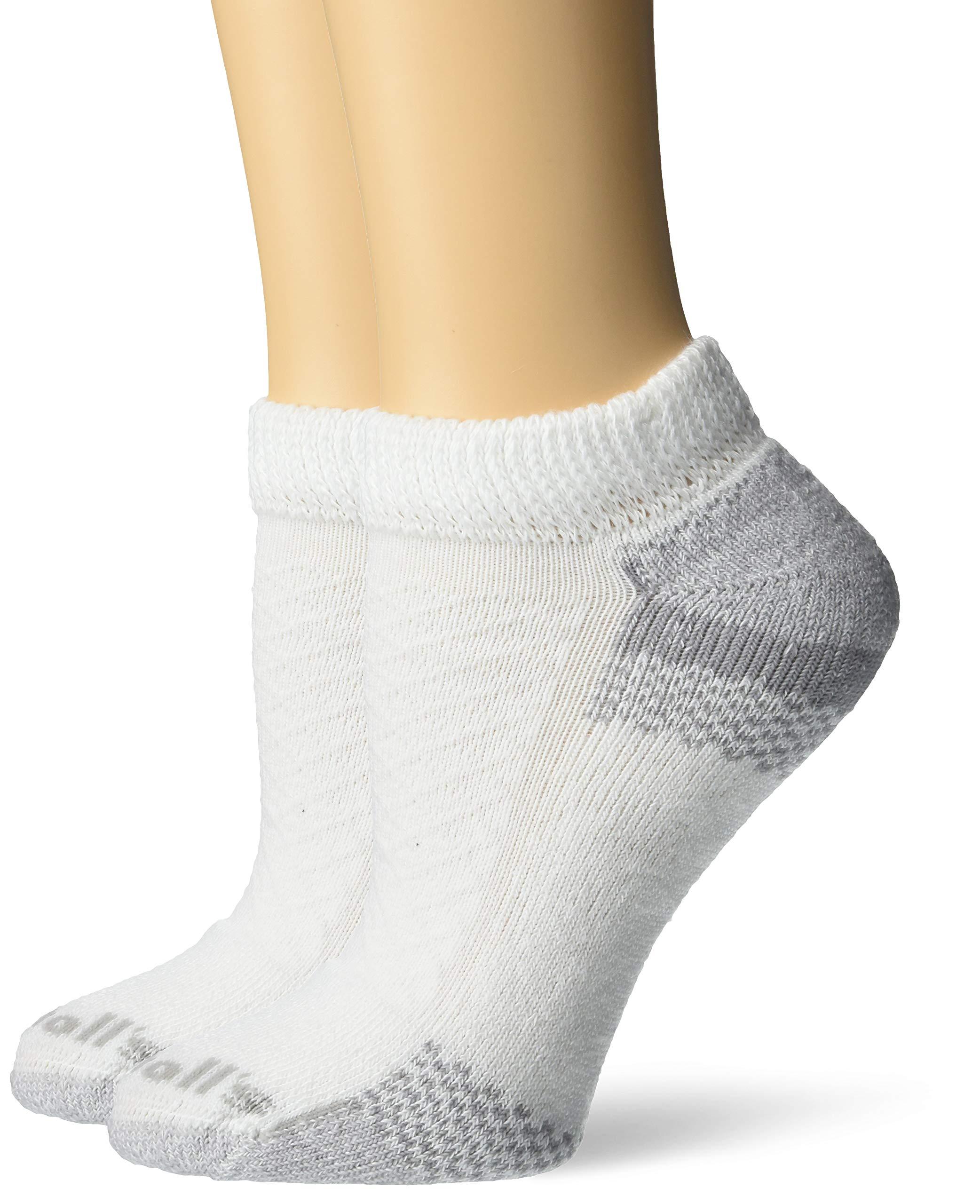 Dr. Scholl's Women's Diabetic & Circulatory Low Cut, white Shoe Size: 4-10