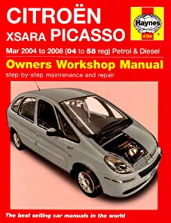 Citroen Xsara Picasso Petrol and Diesel Service and Repair Manual: 2004 to 2008 (Service