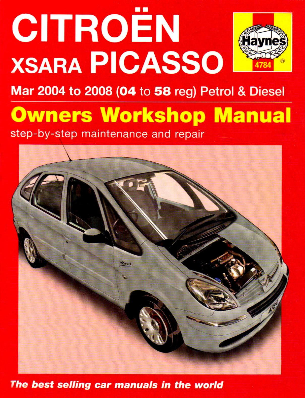 Citroen Xsara Picasso Petrol and Diesel Service and Repair Manual: 2004 to  2008 (Service & repair manuals): Amazon.co.uk: Martynn Randall:  9781844257843: ...