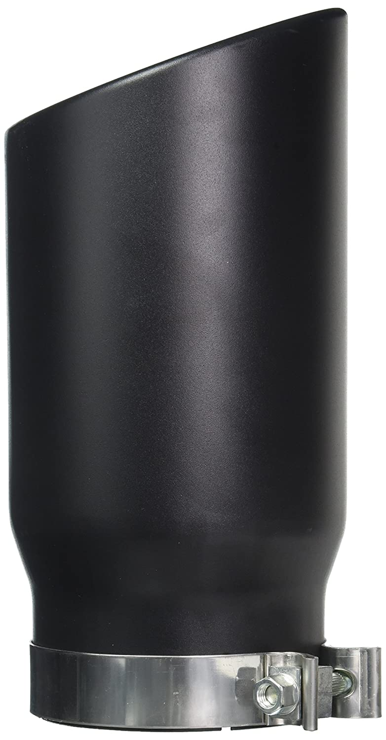 aFe Power 49T50601-B12 5 Inlet x 6 Outlet x 12 Length Black Stainless Steel Bolt-On Diesel Exhaust Tip