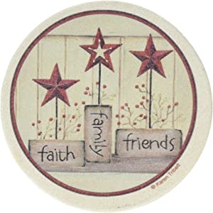 Thirstystone Drink Coaster Set, Faith Family Friends