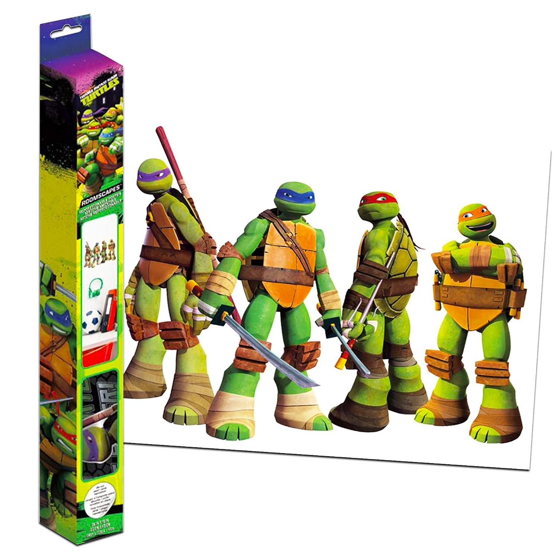 Amazon.com: Calcomanía para pared con diseño de Tortugas ...