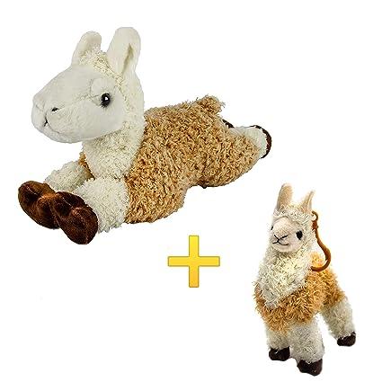 Amazon.com: B-KIDS Llama - Juego de llavero y felpa de ...
