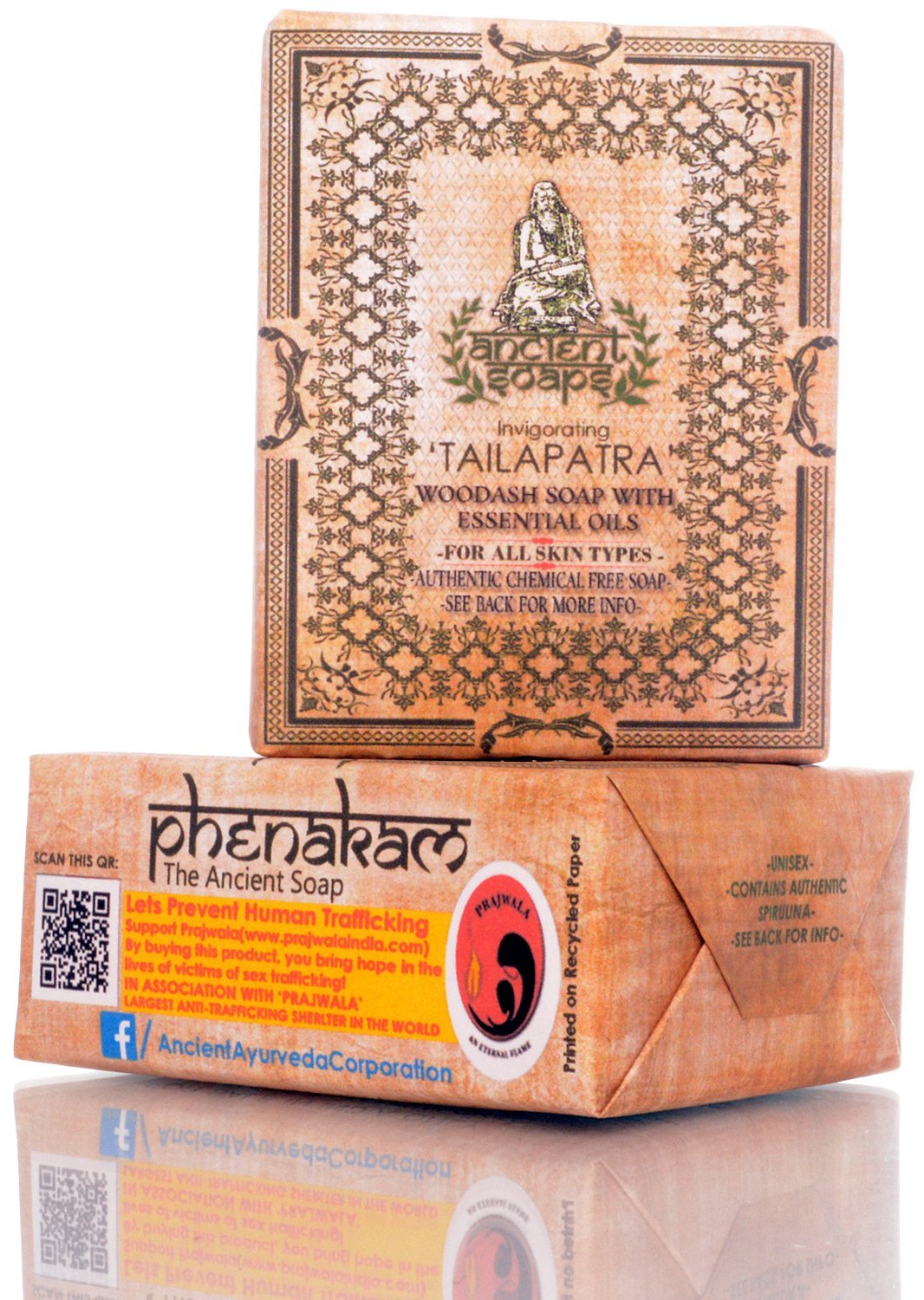 Ancient Ayurveda Ancient Soaps Invigorating Tailapatra For All Skin