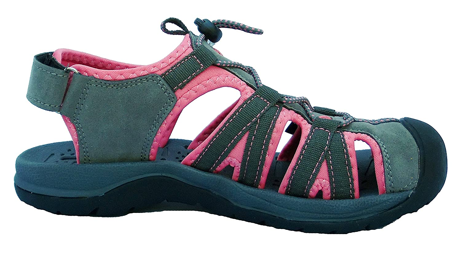 Northwest Territory, Sandali donna, Multicolore (Pink/Teal), 6