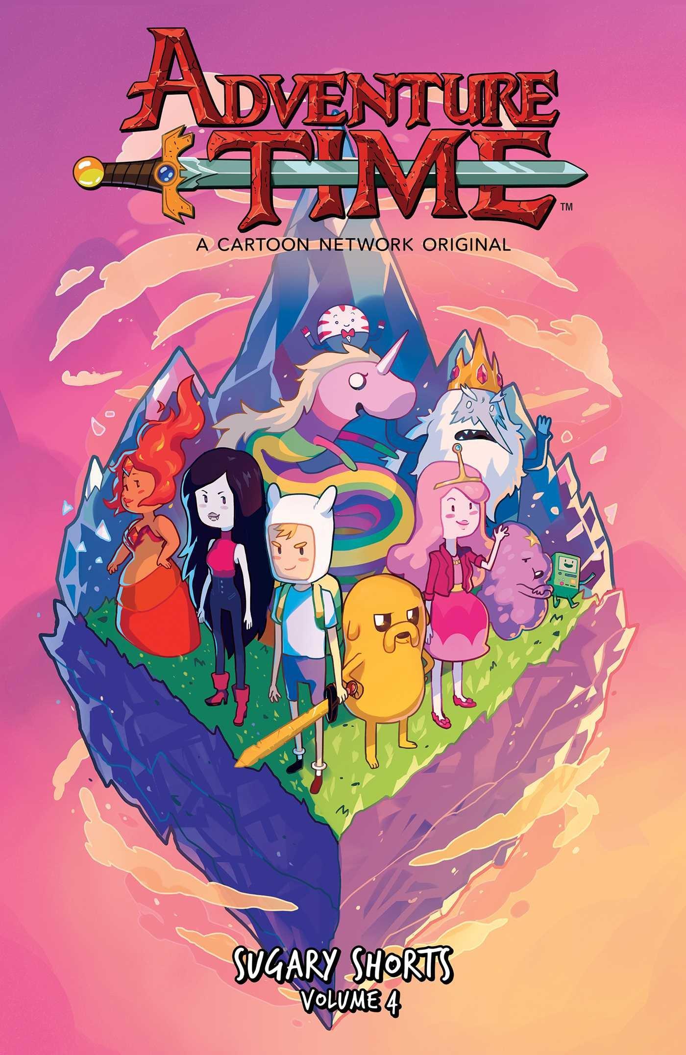Amazon com: Adventure Time: Sugary Shorts Vol  4